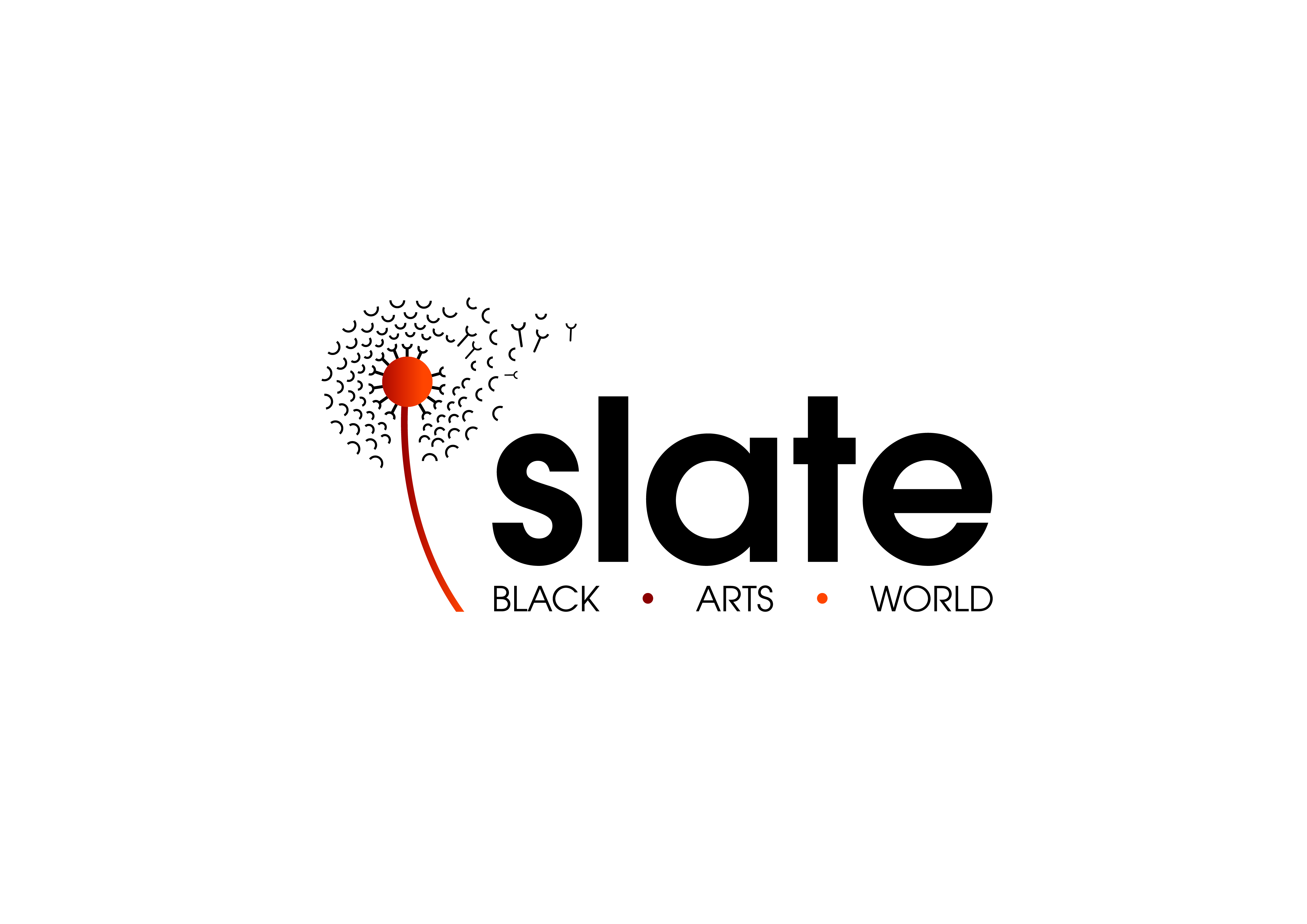 Slate Logo Black and Orange copy