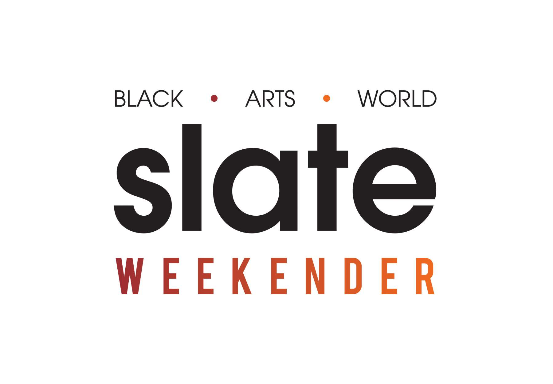 SAVE THE DATE! Black Arts World: Slate Weekender, 12 - 15 Sept - Sheffield